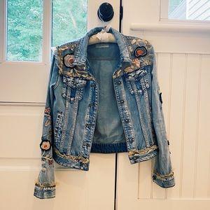 Never Worn Desigual Authentic Denim Jacket